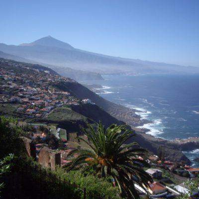 Vista al Teide, Sauzal